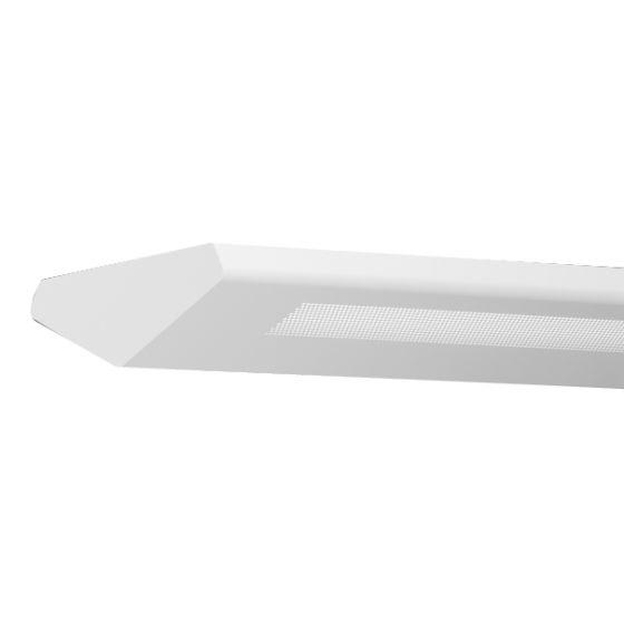 Finelite Series 6 Fluorescent Drop Fixture Pendant  V Perforated T5 S6-V-P