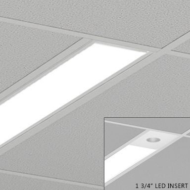 Axis Lighting Beam 4 Fluorescent Linear Recessed Light