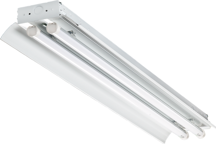 Alcon Lighting 15222-2 Infinum Low Bay Architectural Commercial LED 2-Lamp Linear Low Bay Direct Down Light Fixtures