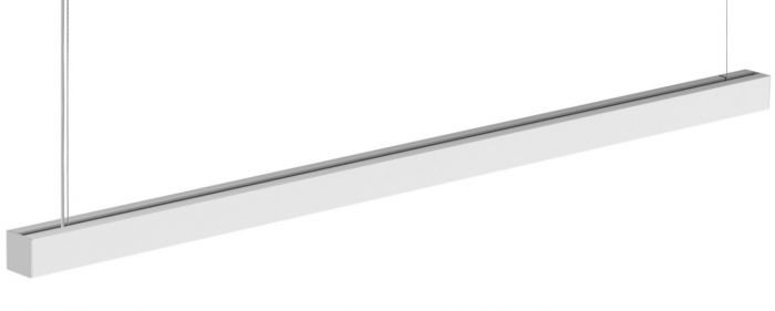 Image 1 of Finelite Muro-Square T8 LED Ceiling Fixture MU-S