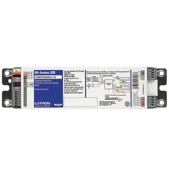 Lutron Program Rapid Dim Ballast FT40T5, 1 Lamp 120/277V H3DT540GU110