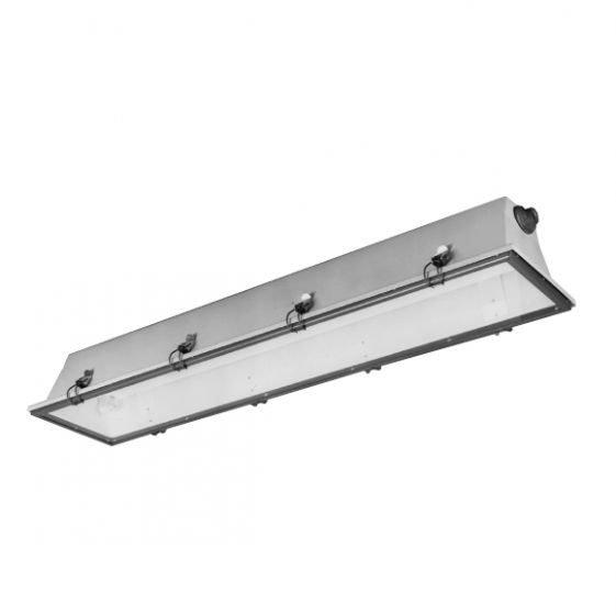 Lightolier Hazardline 32 Watt Fluorescent T8 Fixture for Hazardous Locations HSC-XT-2-32-277V