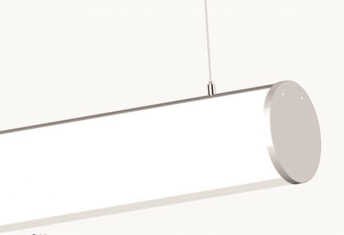 Image 1 of Alcon Lighting 12117-2 Tubob II Architectural 2 Inch LED Linear Channel Pendant Mount Direct Down Light Fixture
