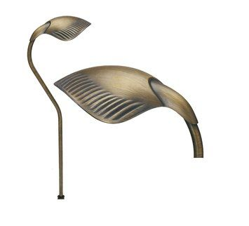 Image 1 of Alcon Lighting 9074 Swann Solid Brass Low Voltage LED Architectural Landscape Path Light Fixture