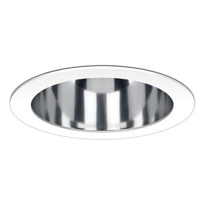 Fahrenheit 6 Inch Clear Reflector White Ring Complete LED Recessed Light LED61051-SA-FR