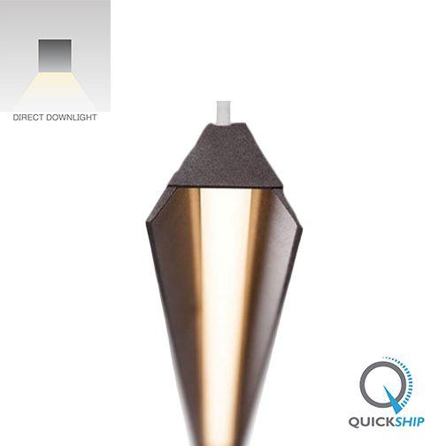 Alcon Lighting 12131 Linear Trapezium 5 Foot LED Pendant Mount Lighting Fixture