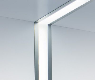 Image 1 of Birchwood Lighting JAKE LED Linear Recessed Ceiling Light Fixture - Ideal for Wall Washing or Wall Lighting