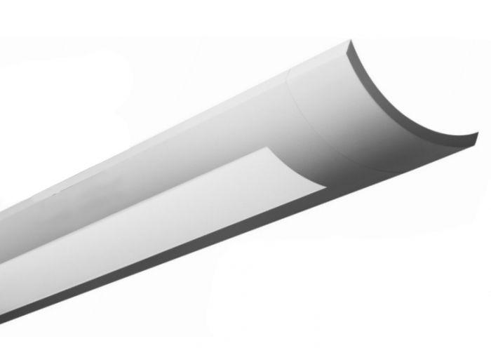 Finelite Series 12 Fluorescent Drop Fixture Pendant Direct / Indirect S12-ID