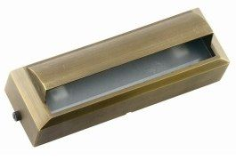Die Cast Brass LV LED Long Surface Mounted Step Light