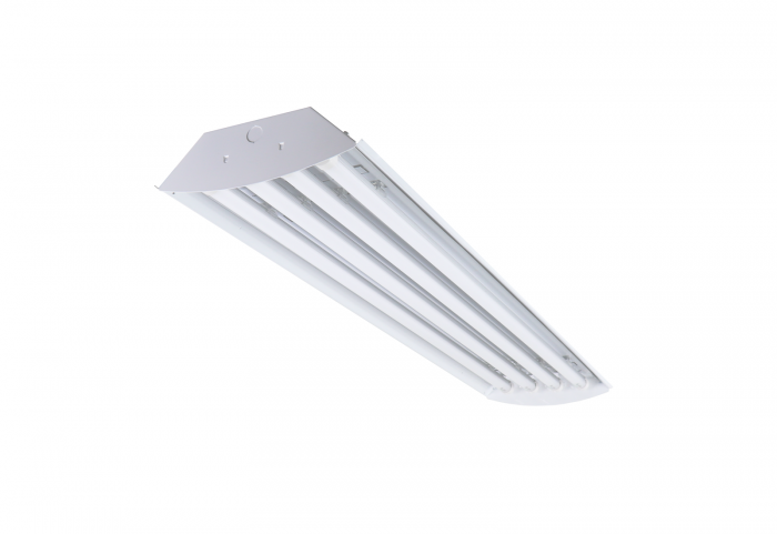 Alcon Lighting 15222-4 Infinum Architectural Commercial LED 4-Lamp Linear High Bay Direct Down Light Fixtures