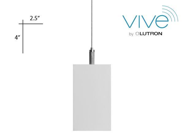 Alcon Lighting 12100-20-P-4 Continuum 20 Series Architectural LED Linear Pendant Mount Direct/Indirect Light Fixture - 4 Foot