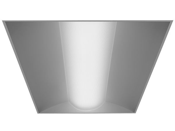 Alcon Lighting 14012 Prime Architectural LED 2x4 Low Profile Recessed Center Basket Ribbed Direct Light Troffer