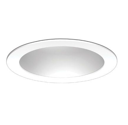 Image 1 of Fahrenheit 6 Inch White Reflector White Ring LED Recessed Light LED61050-WH-FR