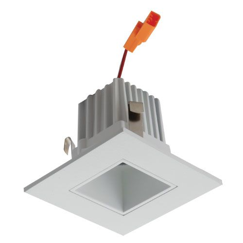 new arrivals f0dc4 ac748 Alcon Lighting 14034 Architectural High Performance Low Profile 2 Inch  Square LED Recessed Light, Trim and Housing (2700K Warm White Light)