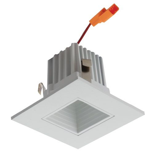 Alcon Lighting 14036 Architectural High Performance Low Profile 2 Inch Square Baffle Trim Led Recessed Light And Housing 2700k Warm White