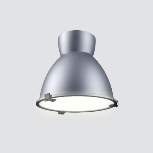 Image 1 of Alcon Lighting 15203 Hobart Architectural LED High and Low Bay Round Pendant Mount Direct Down Light Fixture