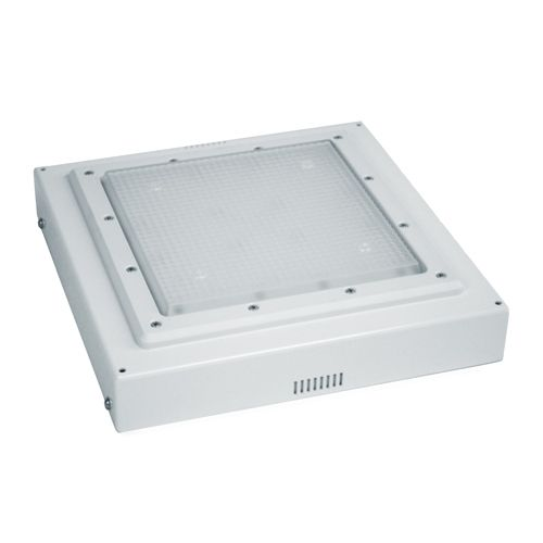 Image 1 of Alcon Lighting 16000 Low Profile LED Canopy Garage Light - DLC Listed.