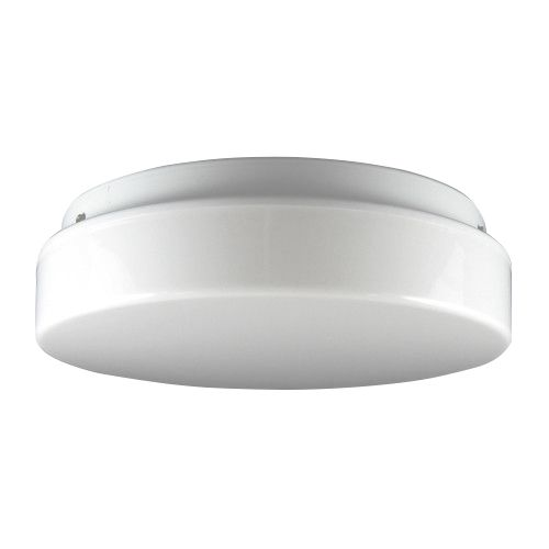 Image 1 of Enertron 10LED24-14 14 Inch LED Drum 21 Watt 2400 Lumen Commercial Grade Ceiling Fixture