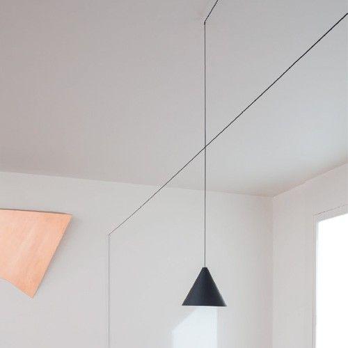 String Light Cone Pendant Alcon Lighting
