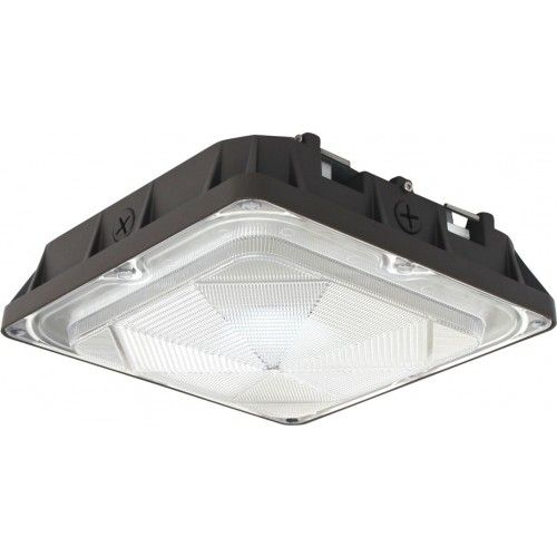 Image 1 of Alcon Lighting 16003 Talos Architectural LED 14 Inch Square Canopy Surface Mount Outdoor Direct Light Fixture