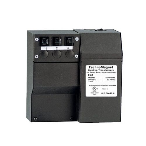 Image 1 of Class II 60W 12V DC Indoor Dimmable LED DC Magnetic Transformer Driver 277V