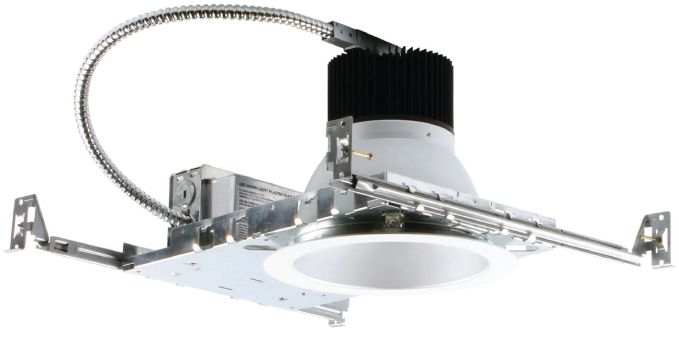 Image 1 of Alcon 14086-6 Lumino Commercial LED 6 Inch New Construction Recessed Direct Down Light