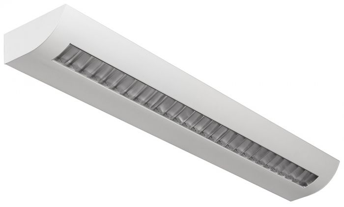 Alcon Lighting 6020-3 Fluorescent Indoor Modern Architectural 3 Foot Wall Mount Luminaire - Direct/Indirect Damp Rated