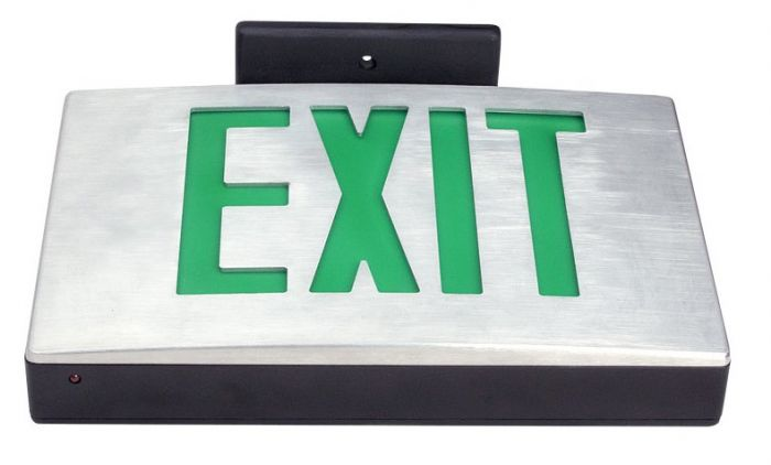 Brink City of New York Approved Cast Aluminium LED Exit Sign