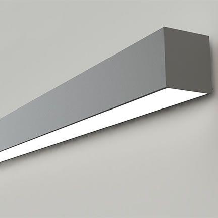 Nulite Lighting Regolo Rw4 4b Bi Directional Wall Series Led 4 Inch Linear