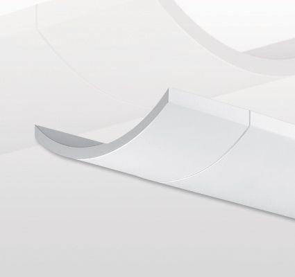 Finelite Series 12 Fluorescent Drop Fixture Pendant Indirect S12-I