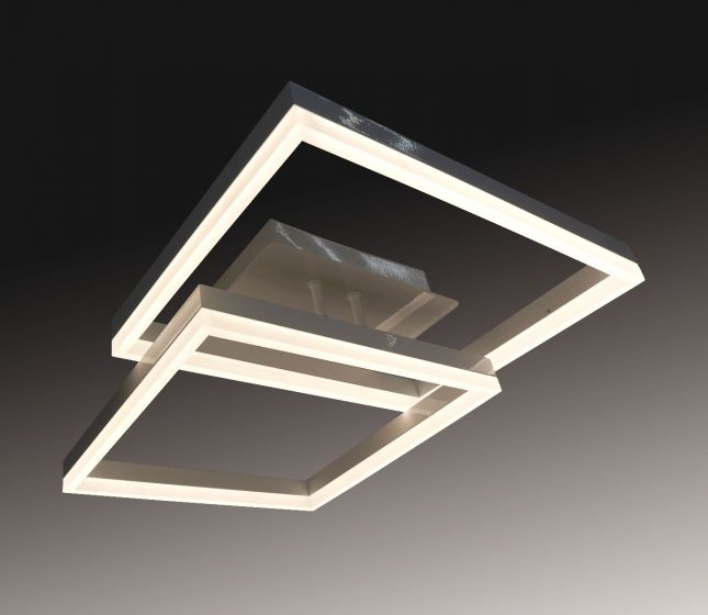 Image 1 of Alcon Lighting 12278-2 Square Architectural LED 2 Tier Square Surface Mount | Color Temperature Switching