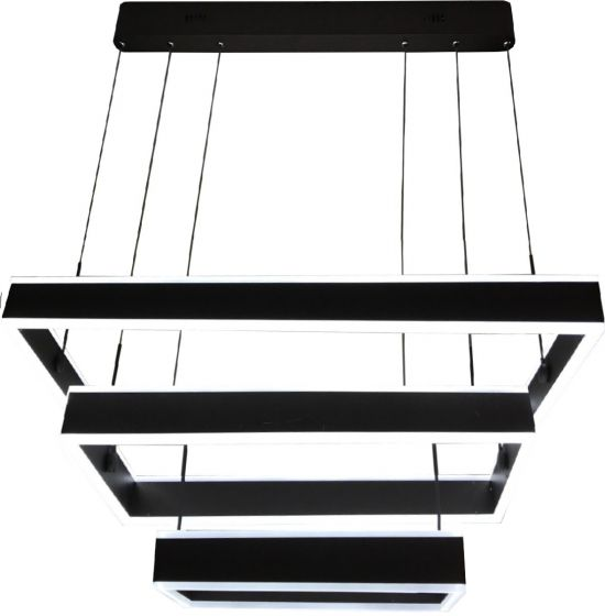 Image 1 of Alcon Lighting 12274-3 Rectangle Architectural LED 3 Tier Direct Downlight