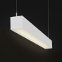 Alcon Lighting 12100-44-P-WW-4 Continuum 44 Series Architectural LED Linear Pendant Mount Wall Wash Light Fixture - 4 Foot