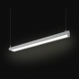 Alcon Lighting 12113-D-4 NLP Architectural LED Linear Suspended Pendant Mount Direct/Indirect Light Fixture -  4 Foot