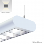 Alcon Lighting 12146 Capsule Architectural LED Linear Suspension Lighting Pendant Mount Direct/Indirect Light Fixture