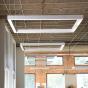 Alcon Lighting 12100-45-P-SQ Continuum 45 Architectural LED Square Pendant Mount Direct/Indirect Light Fixture