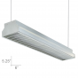 Alcon Lighting 12101 Argyle Series Architectural LED Suspended Pendant Mount Direct Office Light Strip