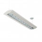 Alcon Lighting Reyon Series 12124-8 Architectural Low Profile 8 Foot LED Suspended Light Fixture