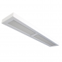 Alcon Lighting 11160-8 NLW Architectural LED 8 Foot Linear Wall Mount Direct/Indirect Light Fixture
