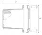 Alcon Lighting 9504-F Hannah Architectural LED Low Voltage Step Light Flush Mount Fixture