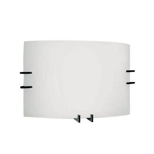 FSC 99-LED Series Decorated Frosted Glass Wall Sconce