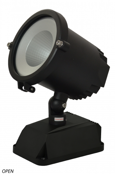 Image 1 of Alcon Lighting 9085-6 Grove Series Architectural LED 6 Inch High Grade Surface Mount Adjustable Flood Light