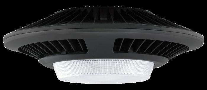 Image 1 of RAB GLED52 52 Watt LED Outdoor Garage Light Fixture