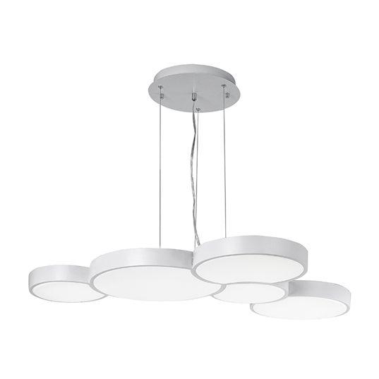 ET2 Cells LED 35 Inch 5 Light Round Pendant