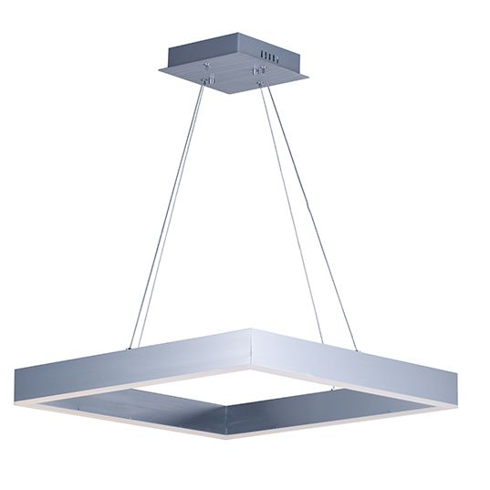 Image 1 of ET2 Metallika LED 32 Inch Linear Square Pendant