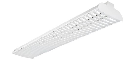 Alcon Lighting 15216 RFT 96 Inch Architectural LED Linear Baffle Louvered High Bay