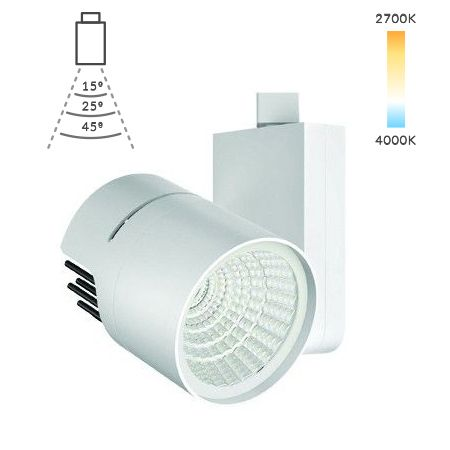 Image 1 of Alcon Lighting 13127 Vivid Architectural LED Monopoint Track Head Light Fixture
