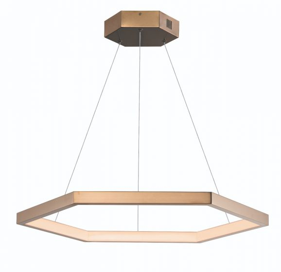 Image 1 of ET2 Hex LED Pendant - 1 31.5 Inch Ring