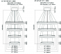 Image 3 of Alcon 12270-4 Redondo Suspended Architectural LED 4 Tier Ring Chandelier