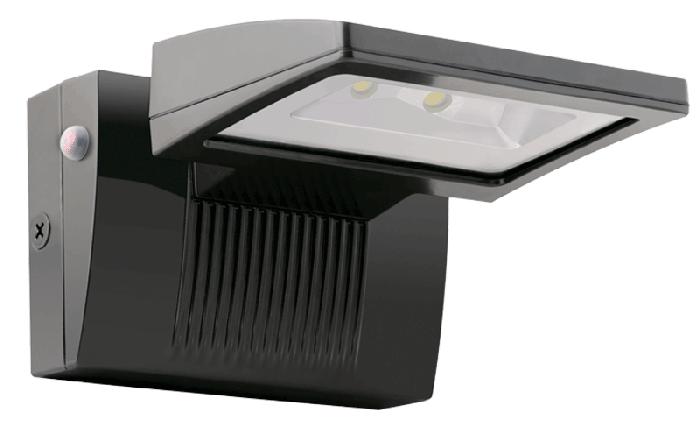 RAB LED 26 Watt 5000K Cool White LED Wall Pack with Emergency Battery Backup WPLED26E